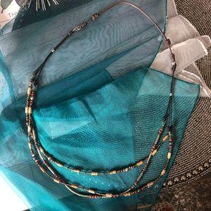 Silpada Festival Spice Adjustable Necklace